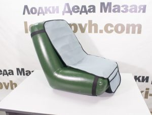 Надувное кресло с накидкой