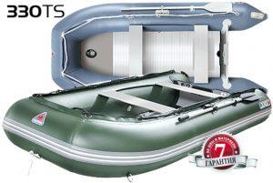 Лодка ПВХ Юкона (YUKONA) 330 TS – U Алюминиевая слань