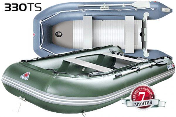 Фото лодки Юкона (YUKONA) 330 TS – U Алюминиевая слань
