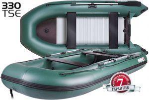 Лодка ПВХ Юкона (YUKONA) 330TSE (F) надувная под мотор