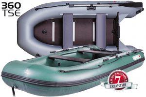 Лодка ПВХ Юкона (YUKONA) 360TSE (AL) надувная под мотор